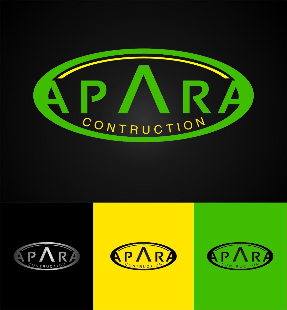 Logo Design by RasYa Muhammad Athaya - Entry No. 136 in the Logo Design Contest Apara Construction Logo Design.