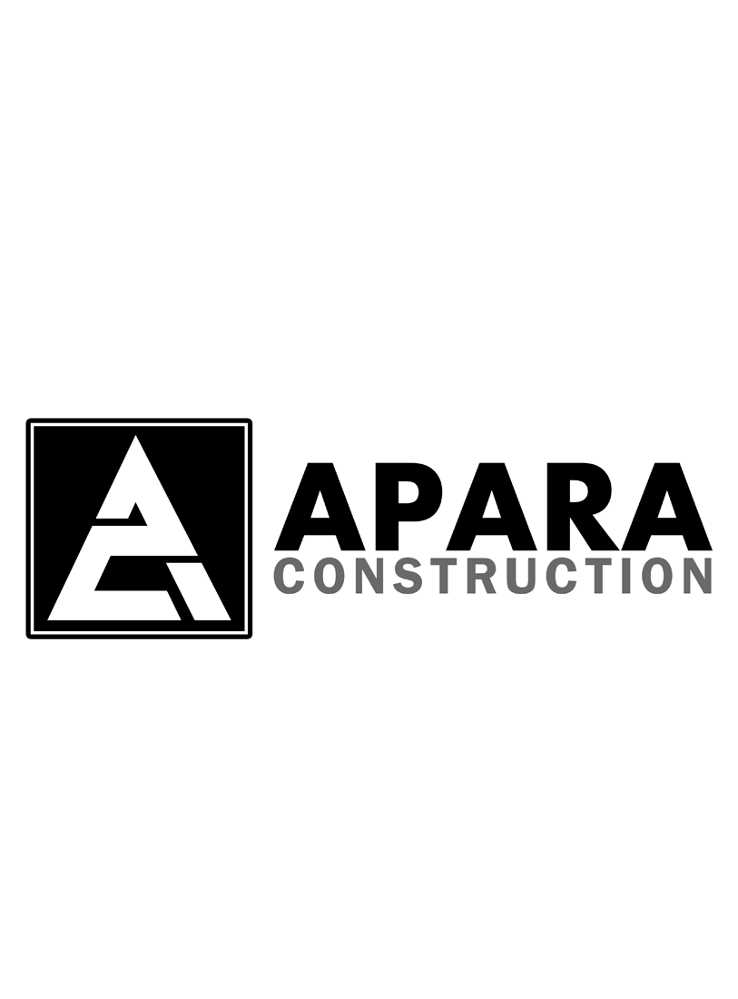 Logo Design by Robert Turla - Entry No. 137 in the Logo Design Contest Apara Construction Logo Design.