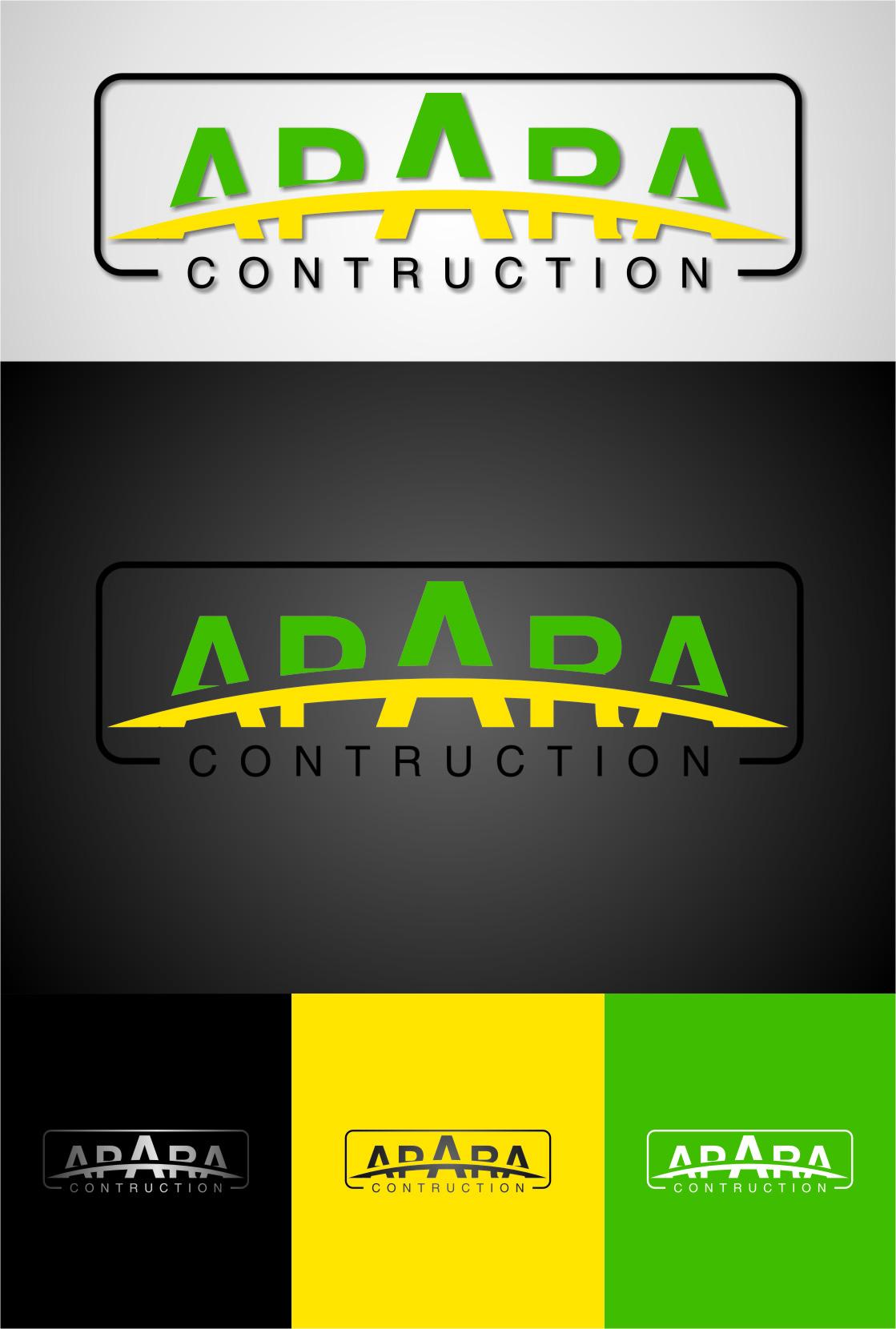 Logo Design by Ngepet_art - Entry No. 140 in the Logo Design Contest Apara Construction Logo Design.