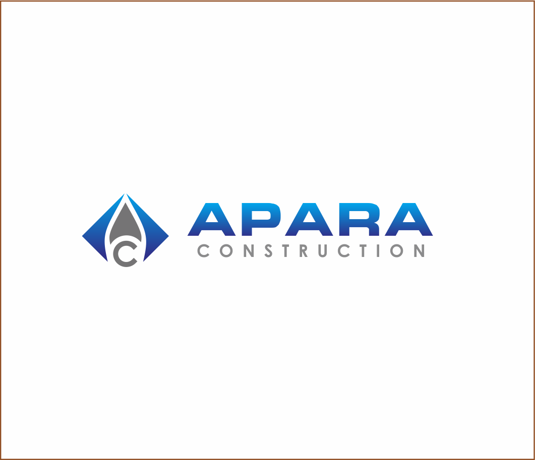 Logo Design by Armada Jamaluddin - Entry No. 141 in the Logo Design Contest Apara Construction Logo Design.