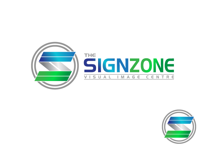 Logo Design by Jan Chua - Entry No. 50 in the Logo Design Contest Fun Logo Design for The Sign Zone.
