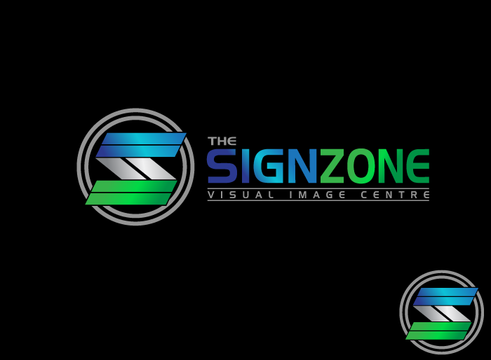 Logo Design by Jan Chua - Entry No. 51 in the Logo Design Contest Fun Logo Design for The Sign Zone.