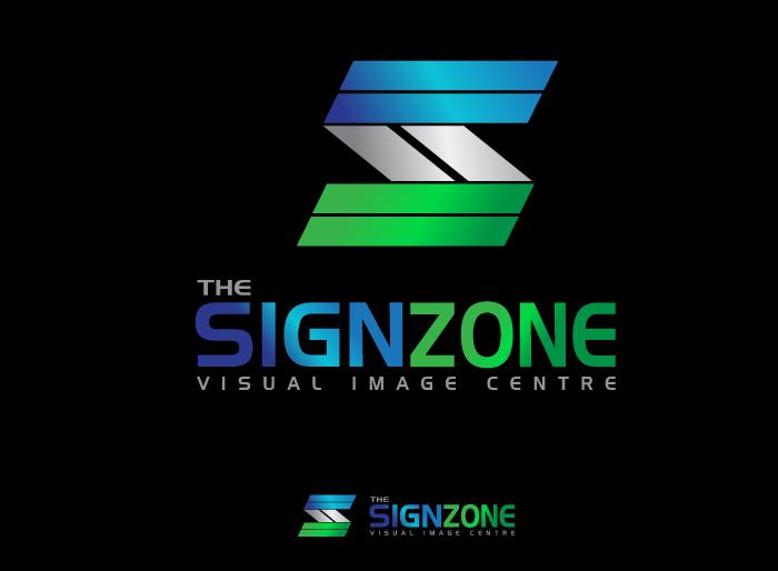 Logo Design by Jan Chua - Entry No. 52 in the Logo Design Contest Fun Logo Design for The Sign Zone.