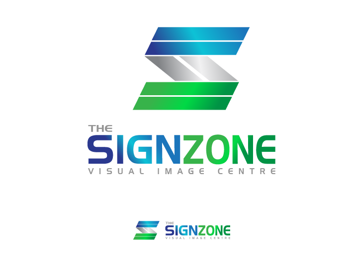 Logo Design by Jan Chua - Entry No. 53 in the Logo Design Contest Fun Logo Design for The Sign Zone.