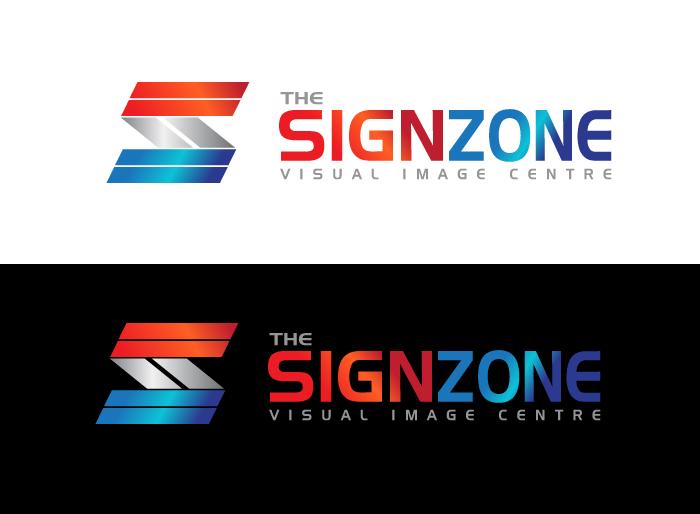 Logo Design by Jan Chua - Entry No. 54 in the Logo Design Contest Fun Logo Design for The Sign Zone.