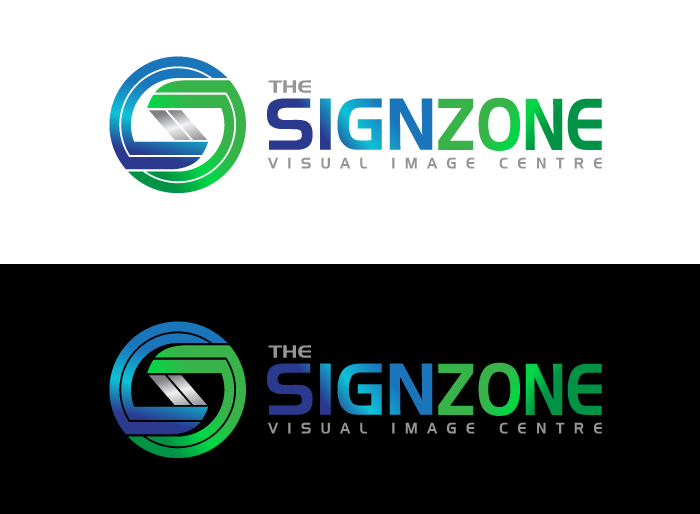 Logo Design by Jan Chua - Entry No. 55 in the Logo Design Contest Fun Logo Design for The Sign Zone.