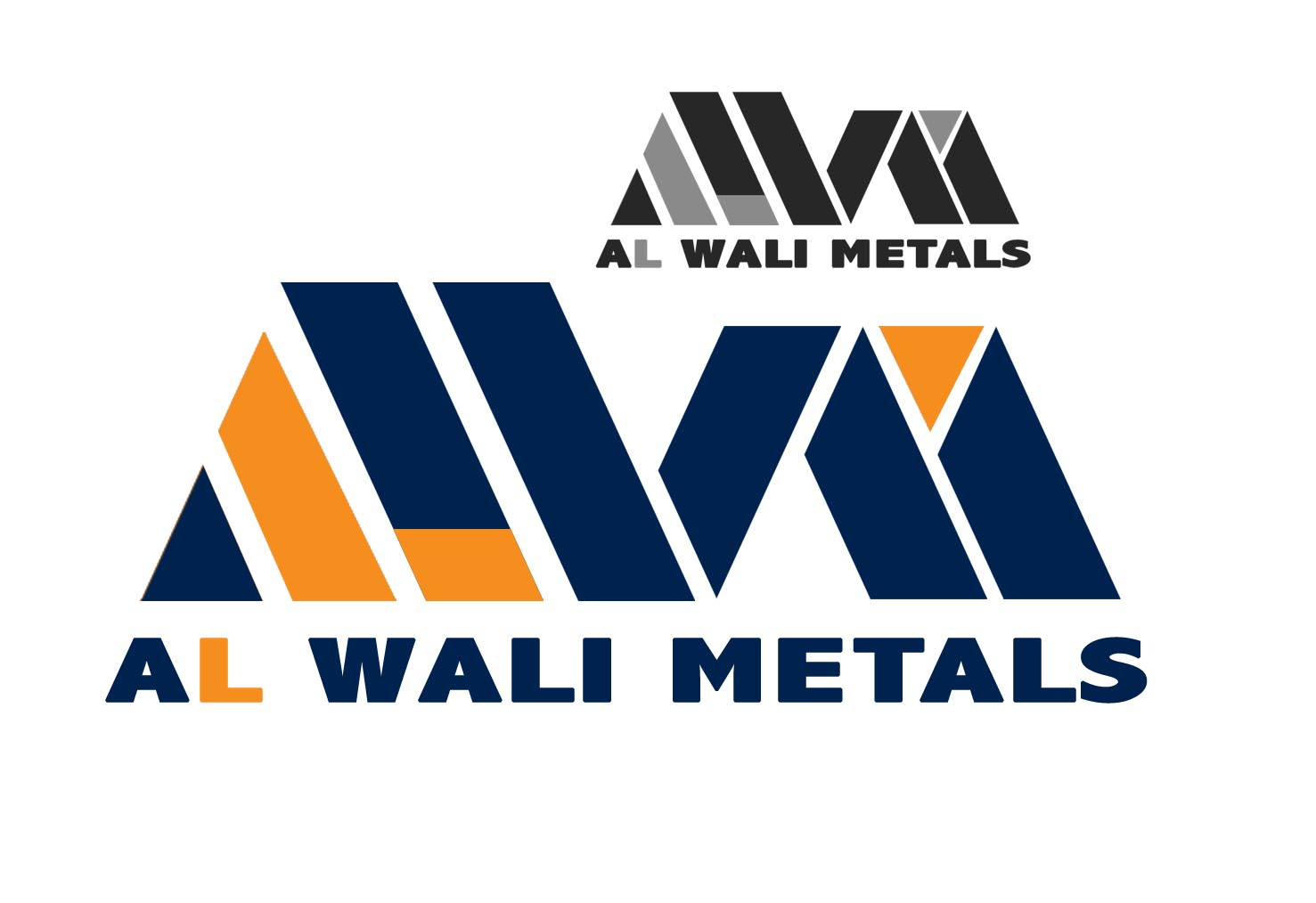Logo Design by Cesar III Sotto - Entry No. 35 in the Logo Design Contest Inspiring Logo Design for Al Wali Metals.