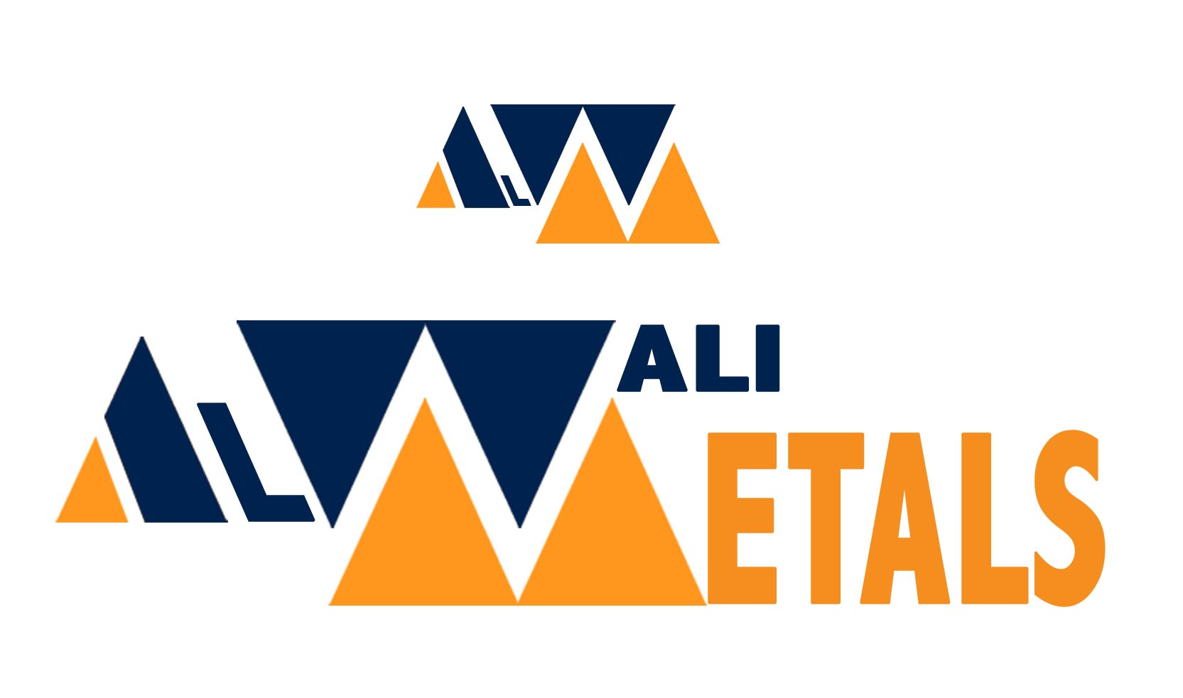 Logo Design by Cesar III Sotto - Entry No. 37 in the Logo Design Contest Inspiring Logo Design for Al Wali Metals.