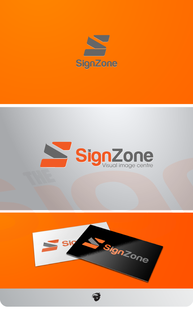 Logo Design by zesthar - Entry No. 58 in the Logo Design Contest Fun Logo Design for The Sign Zone.
