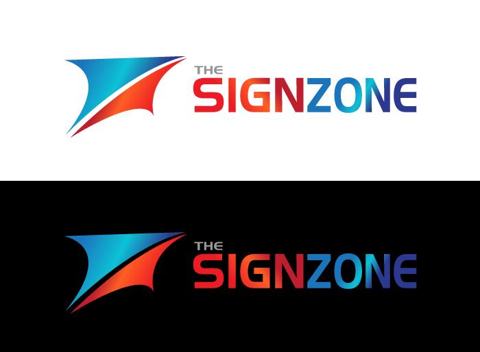 Logo Design by Jan Chua - Entry No. 60 in the Logo Design Contest Fun Logo Design for The Sign Zone.