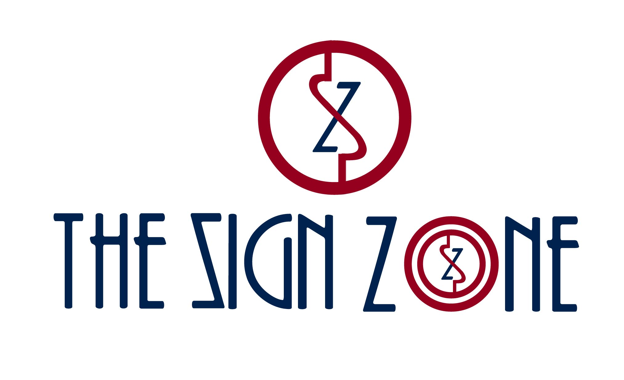 Logo Design by Cesar III Sotto - Entry No. 64 in the Logo Design Contest Fun Logo Design for The Sign Zone.