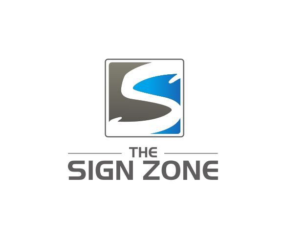 Logo Design by ronny - Entry No. 68 in the Logo Design Contest Fun Logo Design for The Sign Zone.