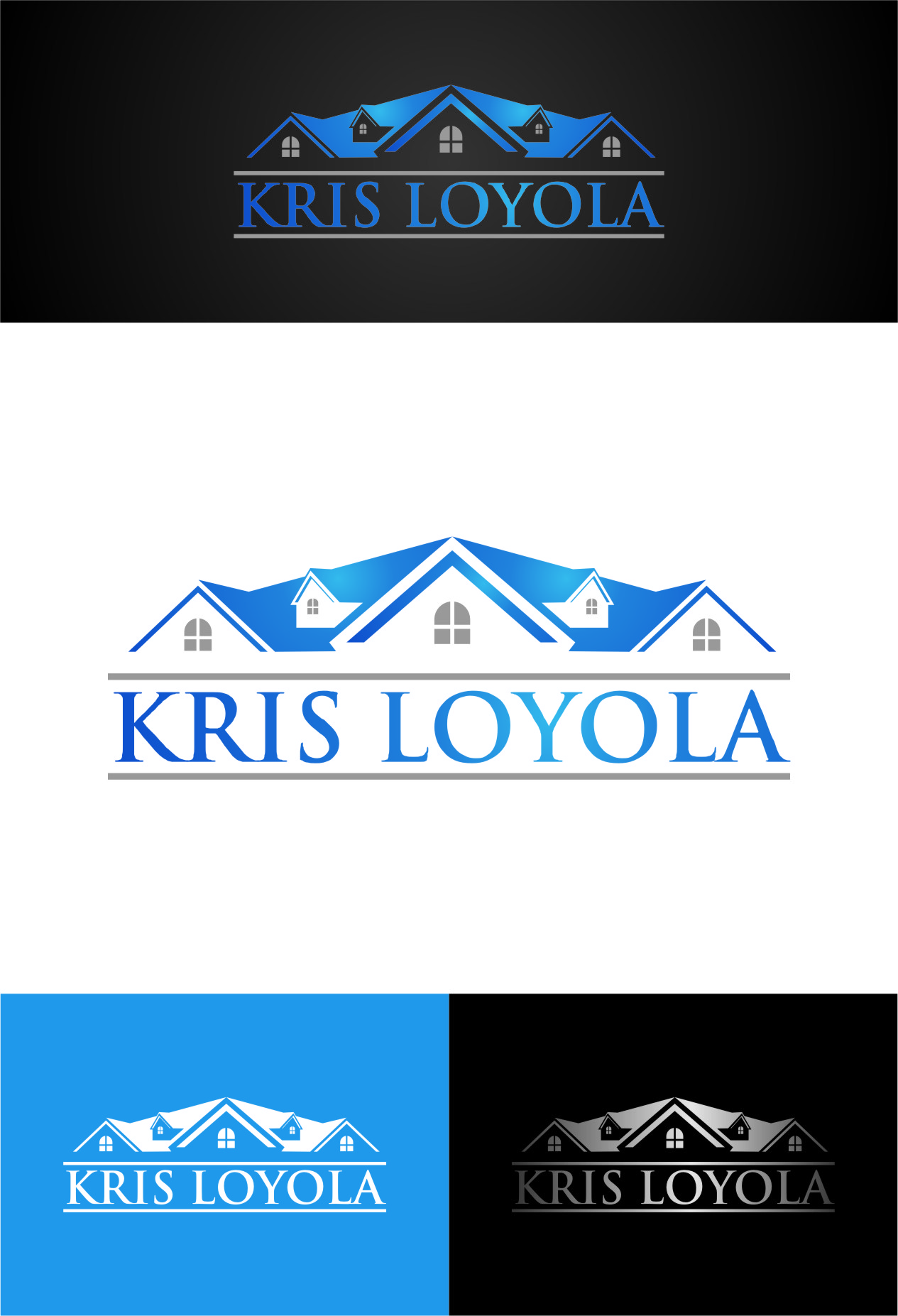 Logo Design by RasYa Muhammad Athaya - Entry No. 11 in the Logo Design Contest Kris Loyola Logo Design.