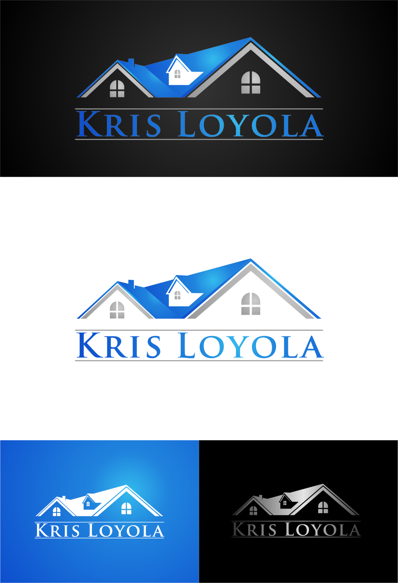 Logo Design by RasYa Muhammad Athaya - Entry No. 12 in the Logo Design Contest Kris Loyola Logo Design.