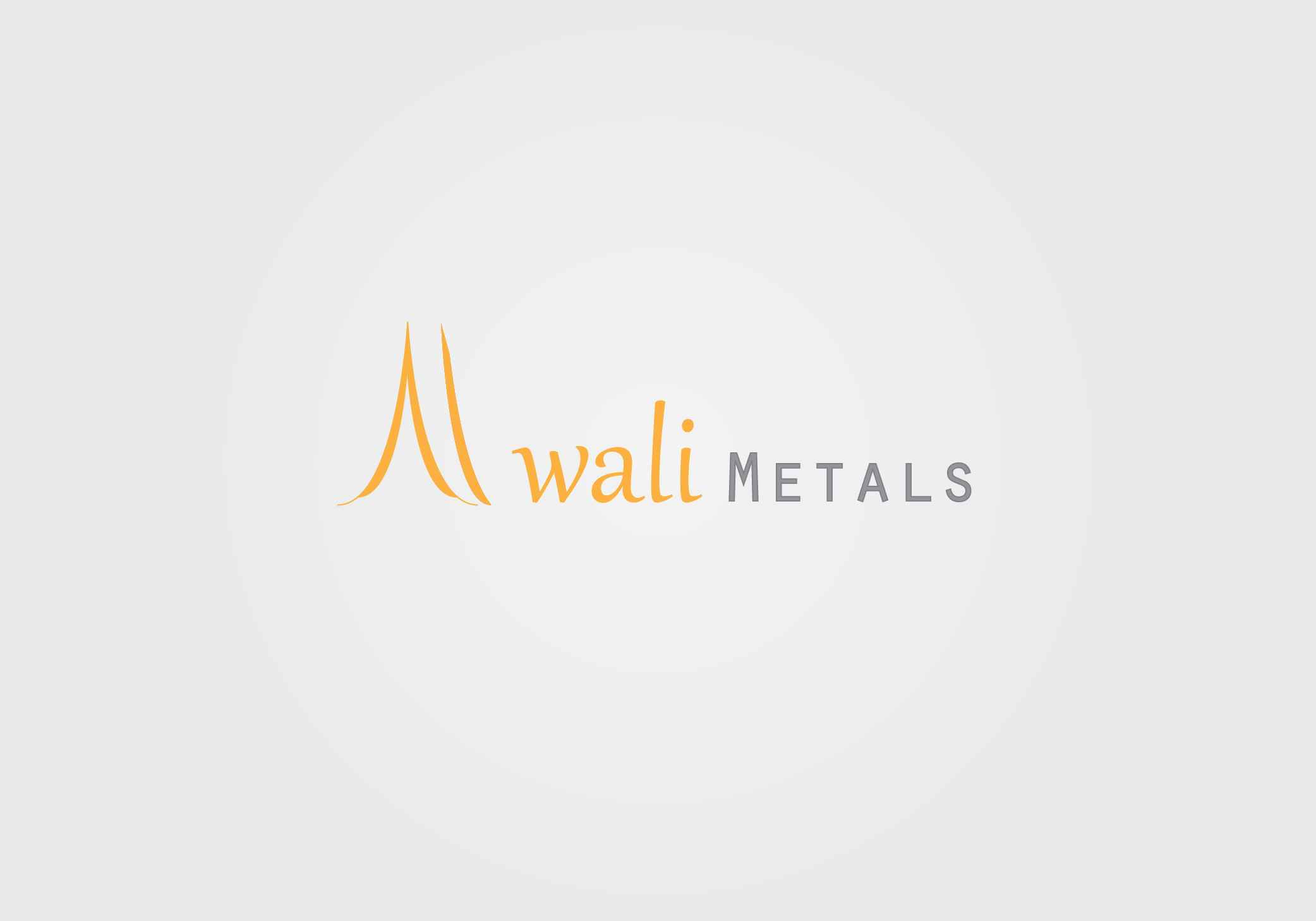 Logo Design by Private User - Entry No. 39 in the Logo Design Contest Inspiring Logo Design for Al Wali Metals.