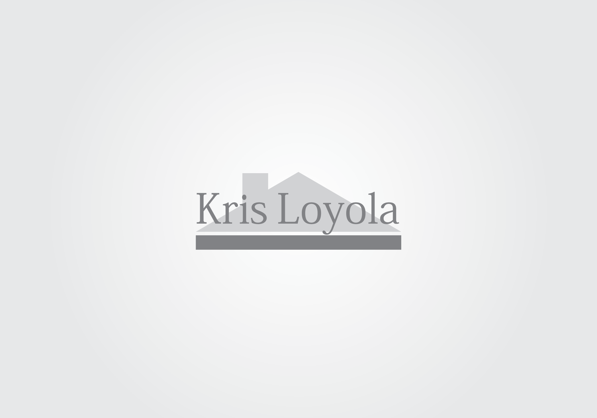 Logo Design by Private User - Entry No. 14 in the Logo Design Contest Kris Loyola Logo Design.