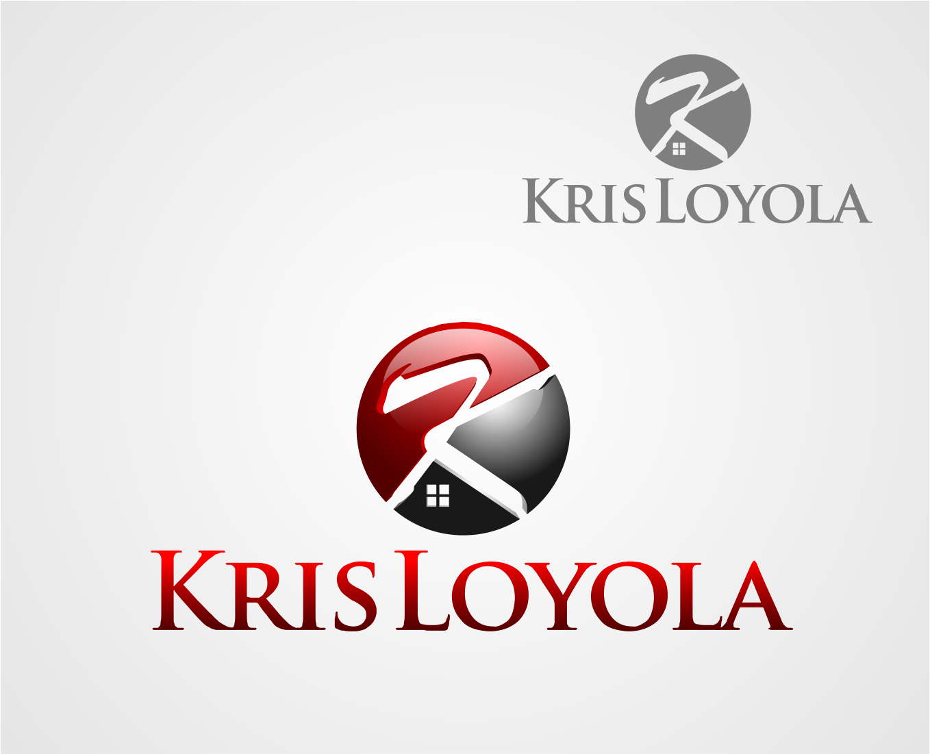 Logo Design by Reivan Ferdinan - Entry No. 16 in the Logo Design Contest Kris Loyola Logo Design.