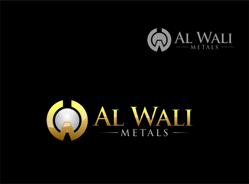 Logo Design by Reivan Ferdinan - Entry No. 42 in the Logo Design Contest Inspiring Logo Design for Al Wali Metals.
