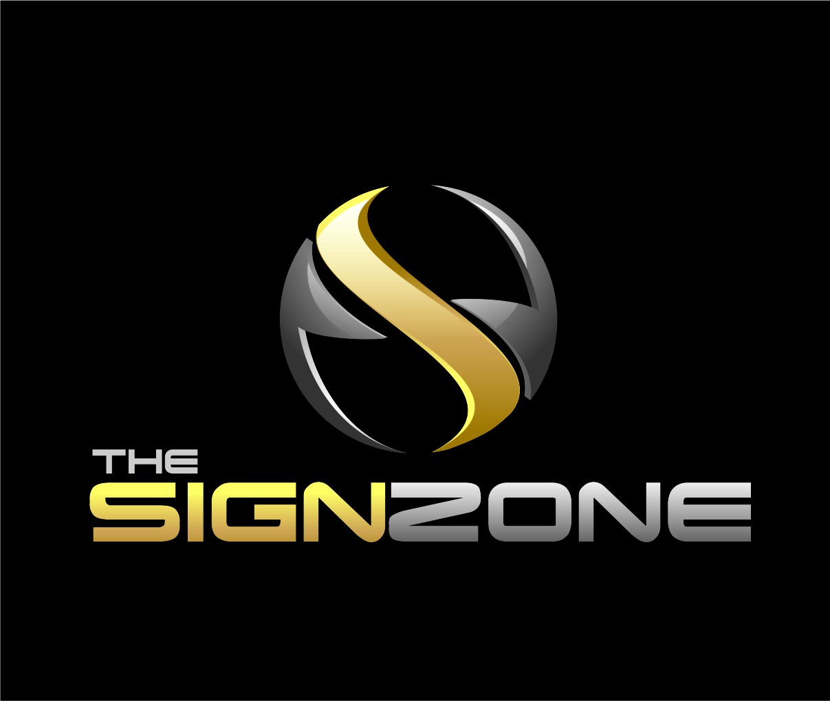 Logo Design by Reivan Ferdinan - Entry No. 70 in the Logo Design Contest Fun Logo Design for The Sign Zone.