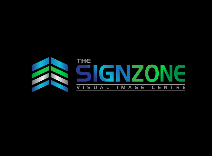 Logo Design by Jan Chua - Entry No. 71 in the Logo Design Contest Fun Logo Design for The Sign Zone.