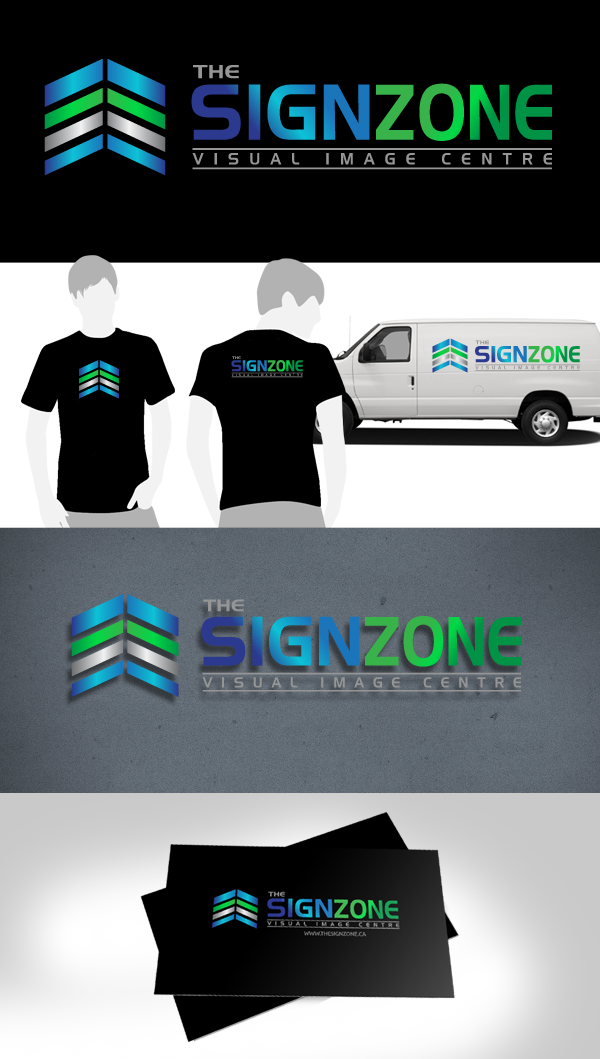 Logo Design by Jan Chua - Entry No. 72 in the Logo Design Contest Fun Logo Design for The Sign Zone.