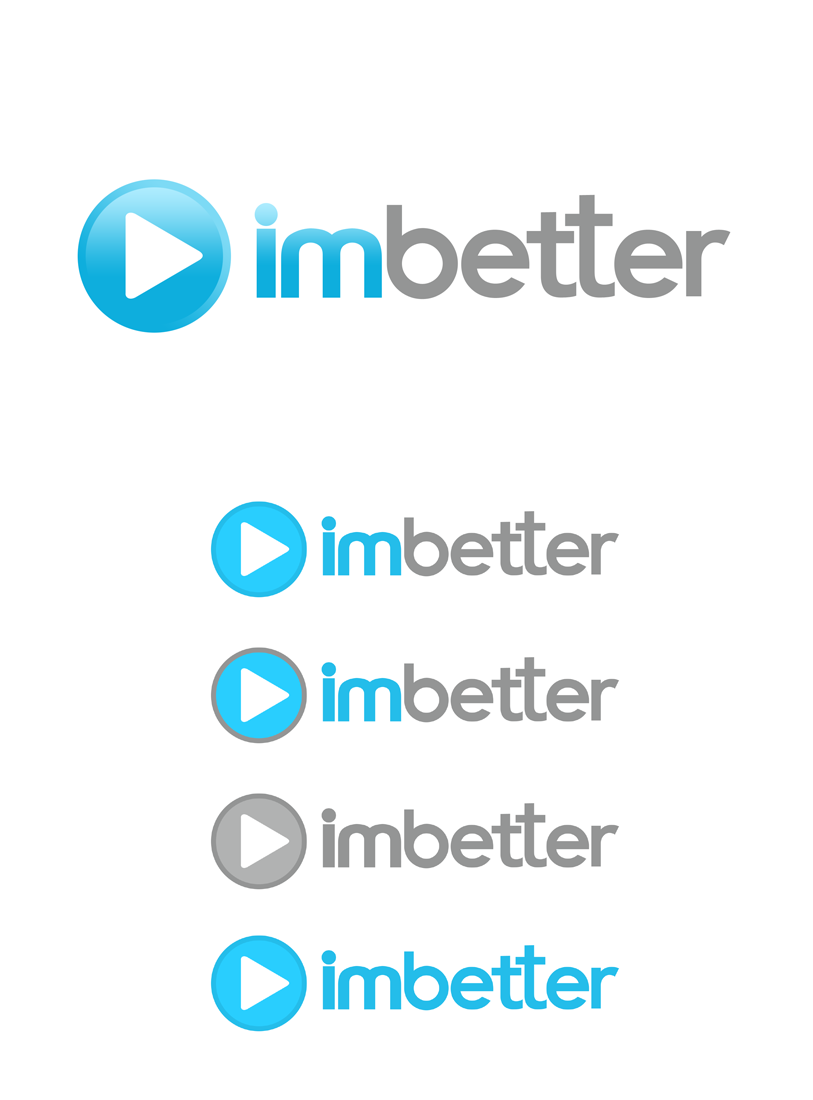 Logo Design by Robert Turla - Entry No. 103 in the Logo Design Contest Imaginative Logo Design for imbetter.