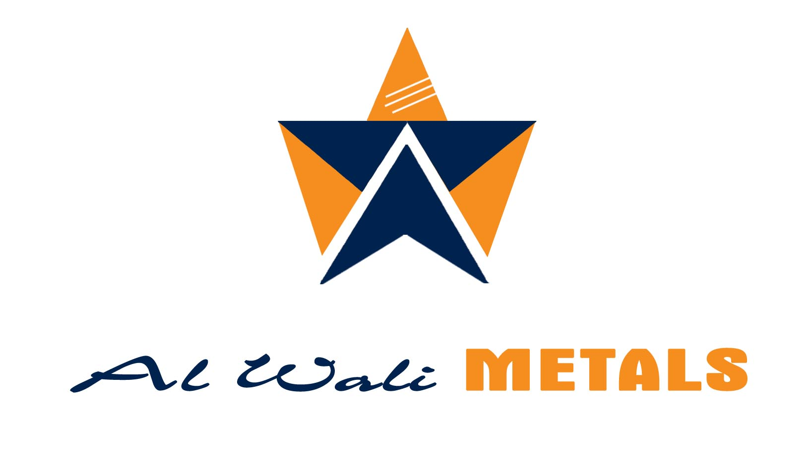 Logo Design by Cesar III Sotto - Entry No. 43 in the Logo Design Contest Inspiring Logo Design for Al Wali Metals.