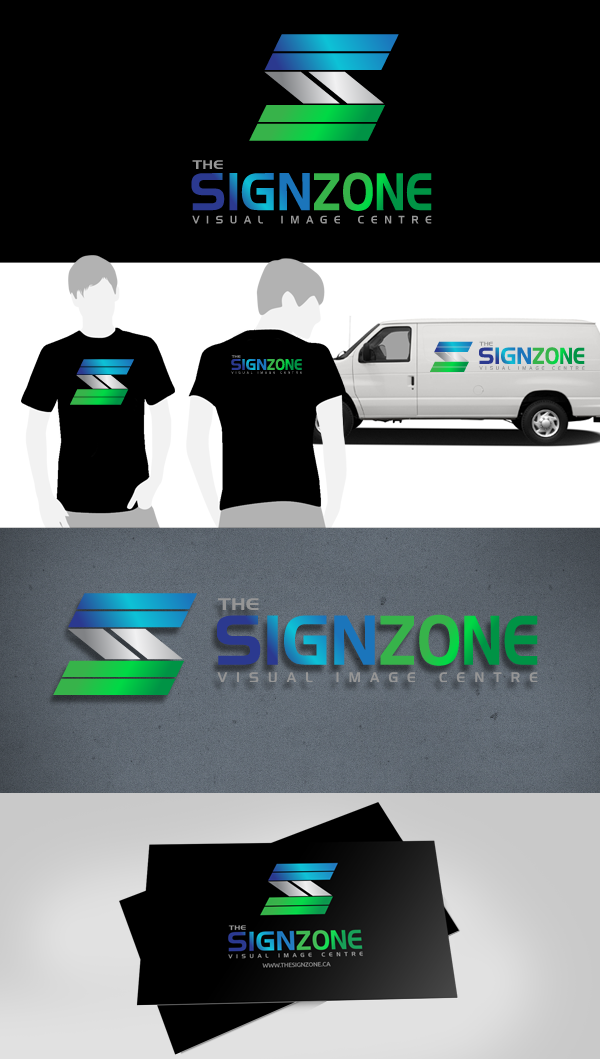 Logo Design by Jan Chua - Entry No. 74 in the Logo Design Contest Fun Logo Design for The Sign Zone.