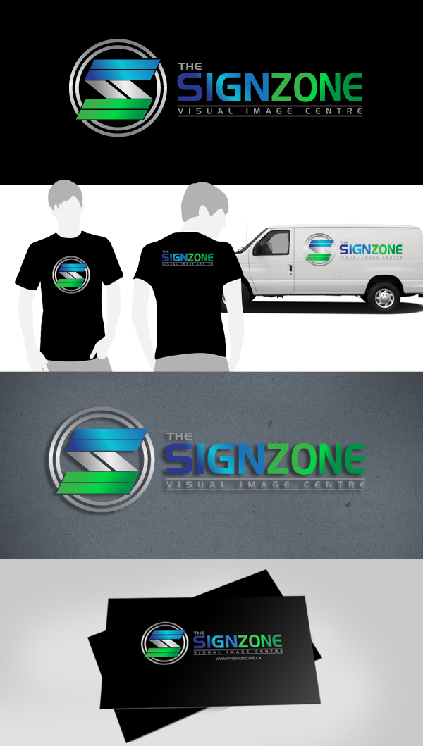 Logo Design by Jan Chua - Entry No. 75 in the Logo Design Contest Fun Logo Design for The Sign Zone.