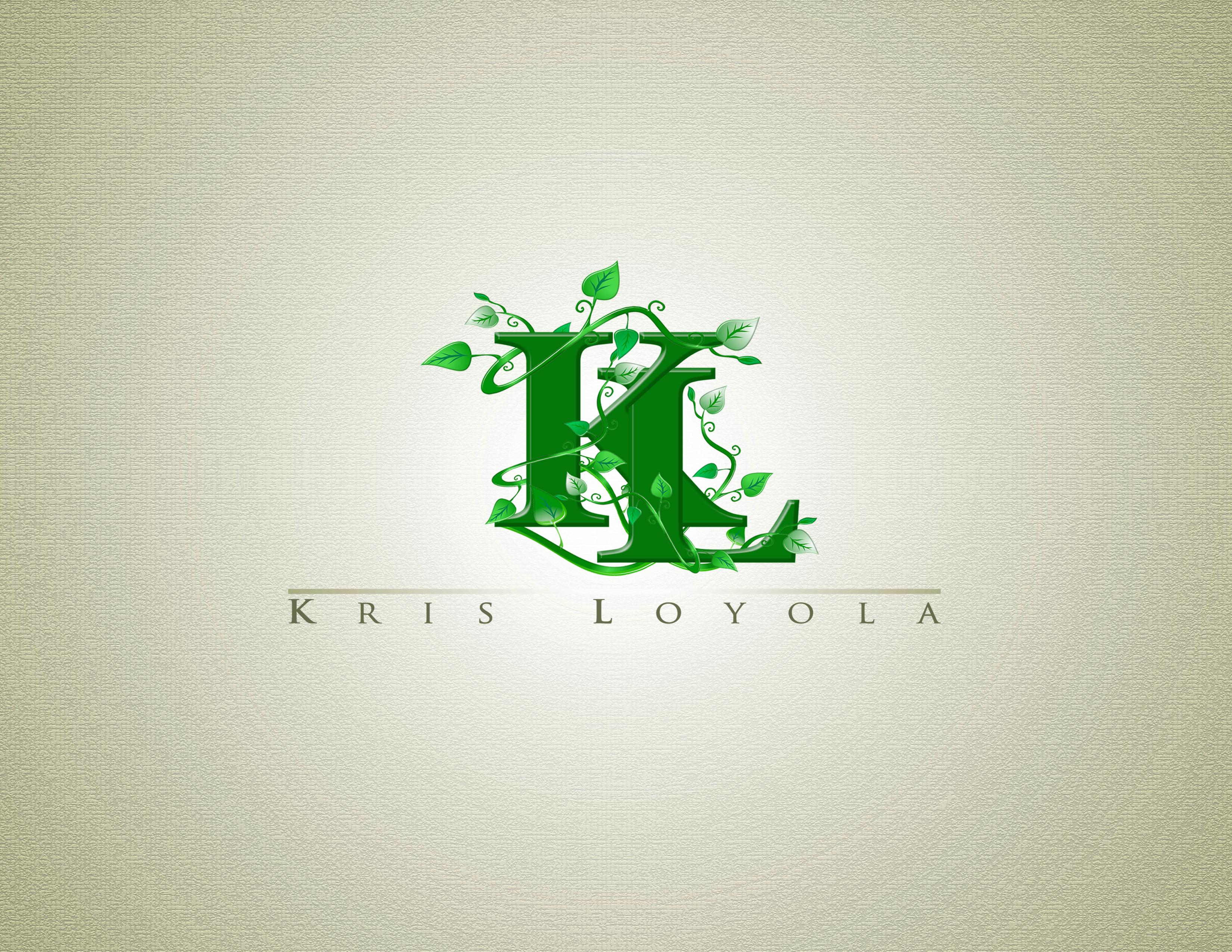 Logo Design by Private User - Entry No. 24 in the Logo Design Contest Kris Loyola Logo Design.