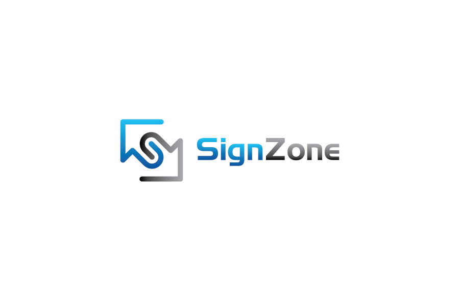 Logo Design by Private User - Entry No. 76 in the Logo Design Contest Fun Logo Design for The Sign Zone.