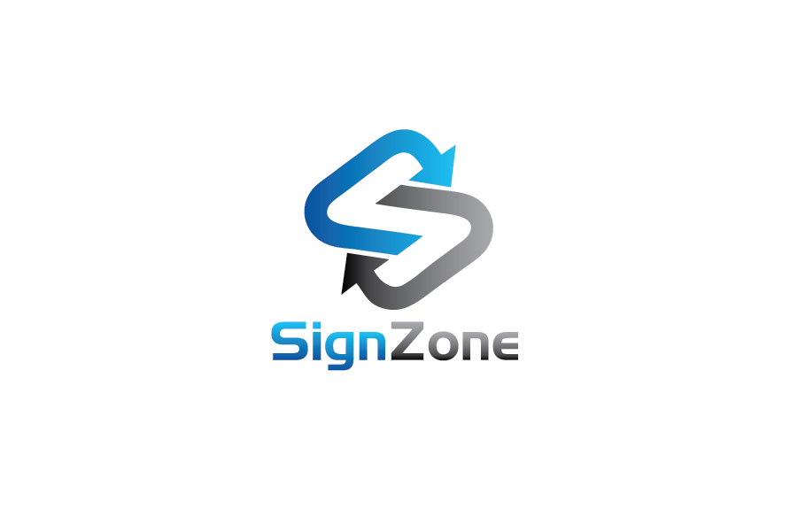 Logo Design by Private User - Entry No. 77 in the Logo Design Contest Fun Logo Design for The Sign Zone.