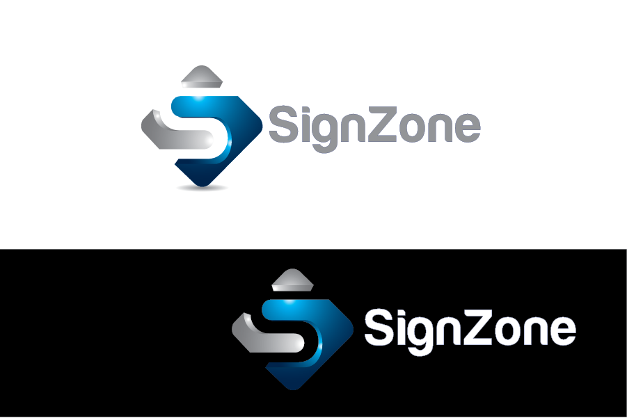 Logo Design by Private User - Entry No. 79 in the Logo Design Contest Fun Logo Design for The Sign Zone.