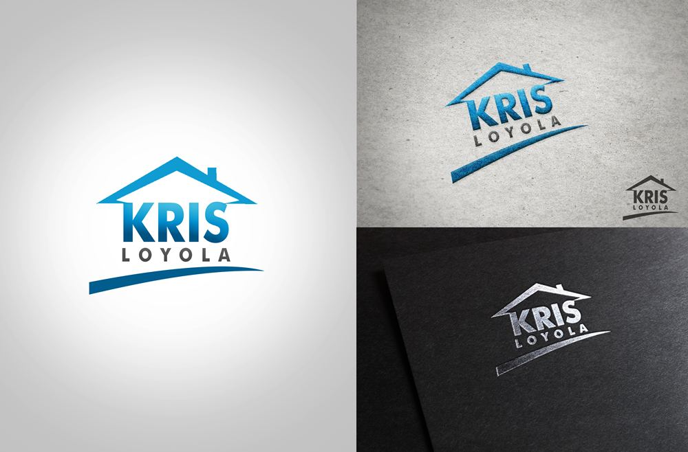 Logo Design by Respati Himawan - Entry No. 39 in the Logo Design Contest Kris Loyola Logo Design.