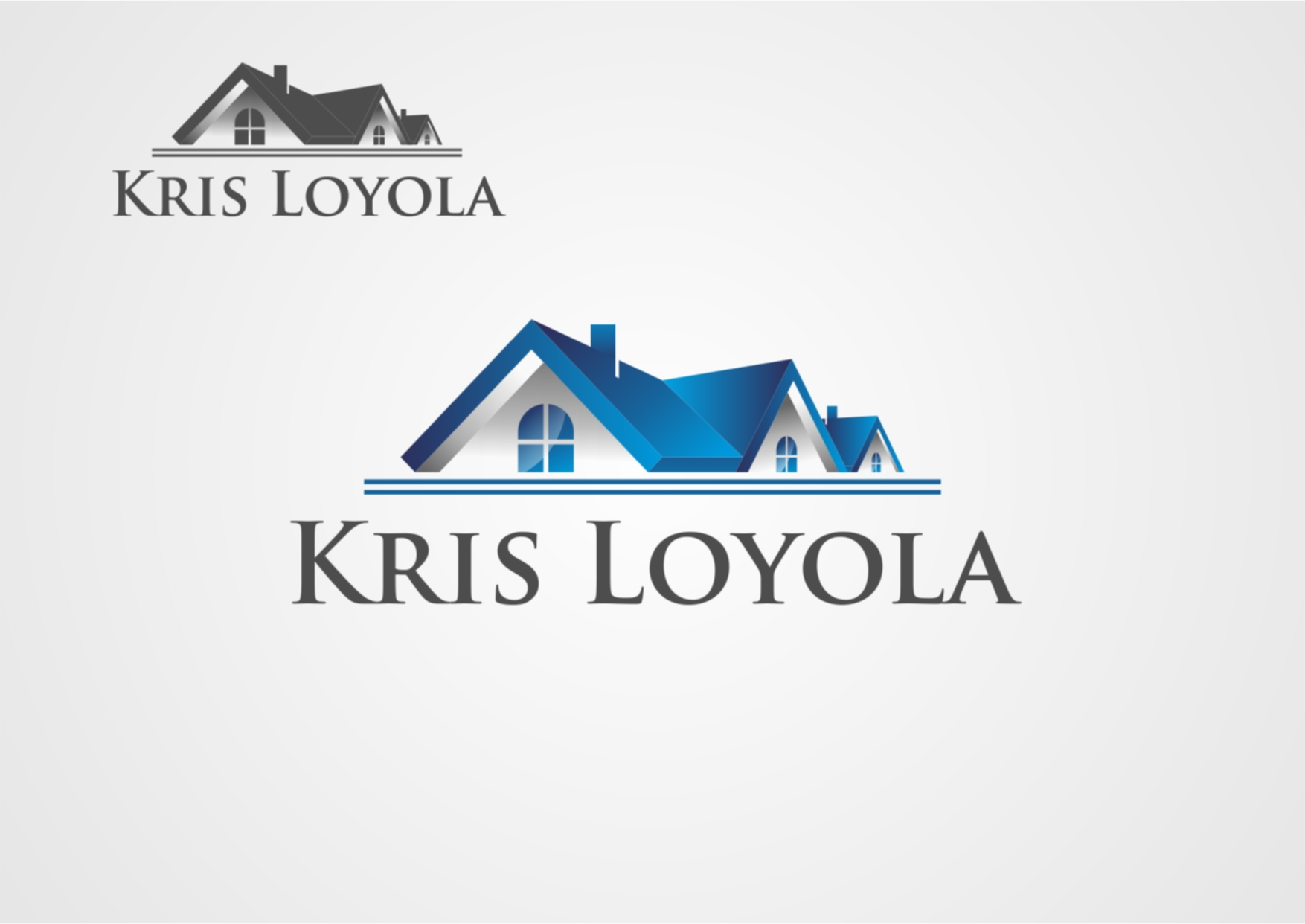 Logo Design by Private User - Entry No. 45 in the Logo Design Contest Kris Loyola Logo Design.
