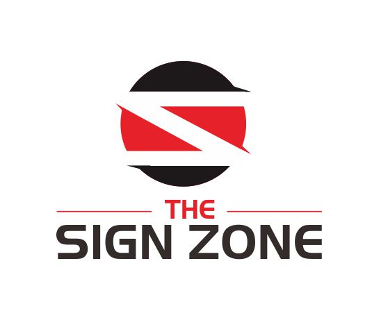 Logo Design by ronny - Entry No. 86 in the Logo Design Contest Fun Logo Design for The Sign Zone.