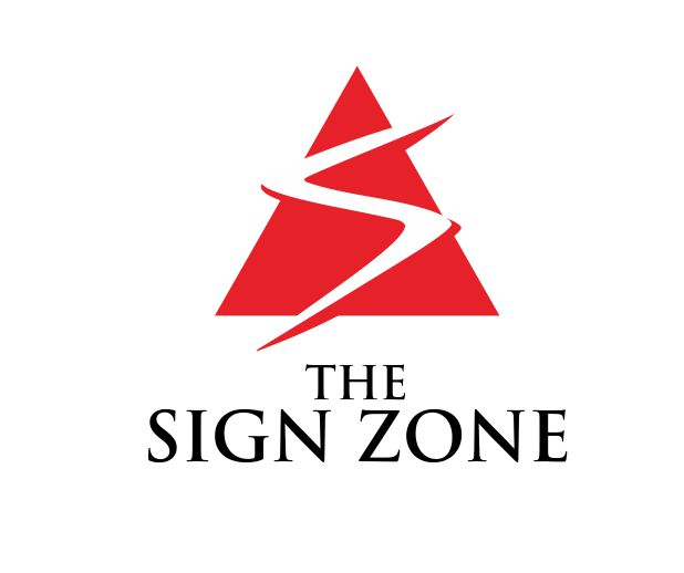 Logo Design by ronny - Entry No. 87 in the Logo Design Contest Fun Logo Design for The Sign Zone.