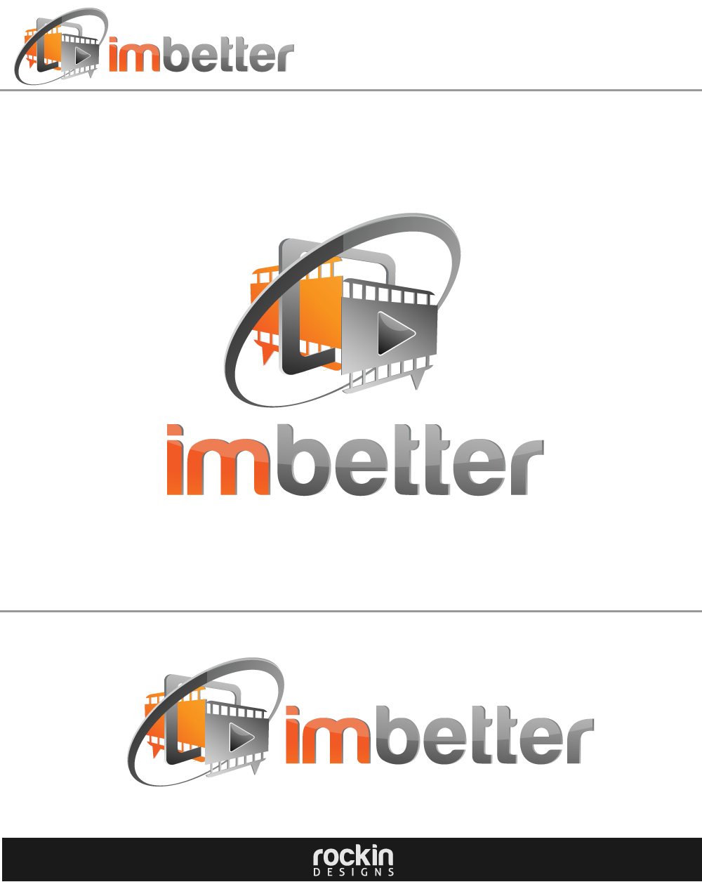 Logo Design by rockin - Entry No. 132 in the Logo Design Contest Imaginative Logo Design for imbetter.