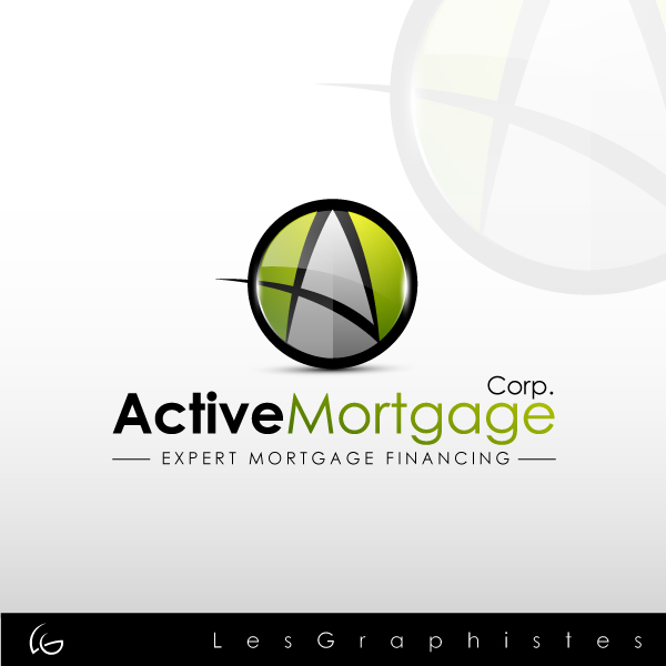 Logo Design by Les-Graphistes - Entry No. 99 in the Logo Design Contest Active Mortgage Corp..