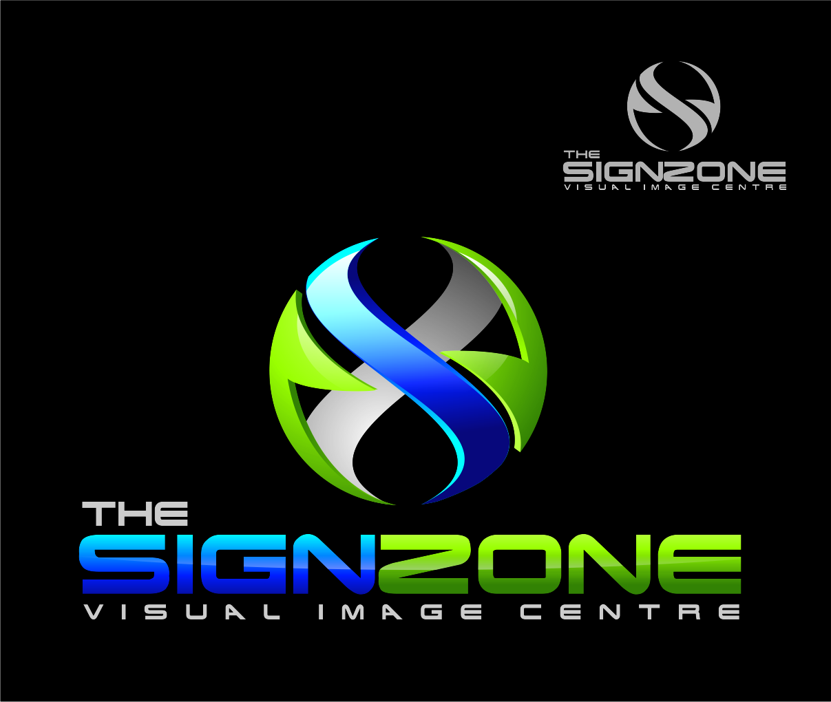 Logo Design by Reivan Ferdinan - Entry No. 89 in the Logo Design Contest Fun Logo Design for The Sign Zone.