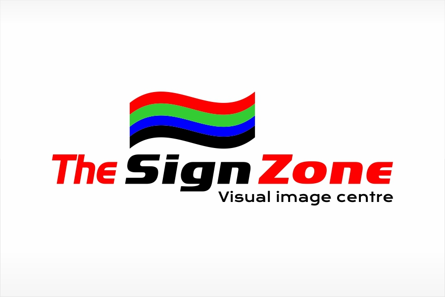 Logo Design by Ali Ahmad - Entry No. 90 in the Logo Design Contest Fun Logo Design for The Sign Zone.