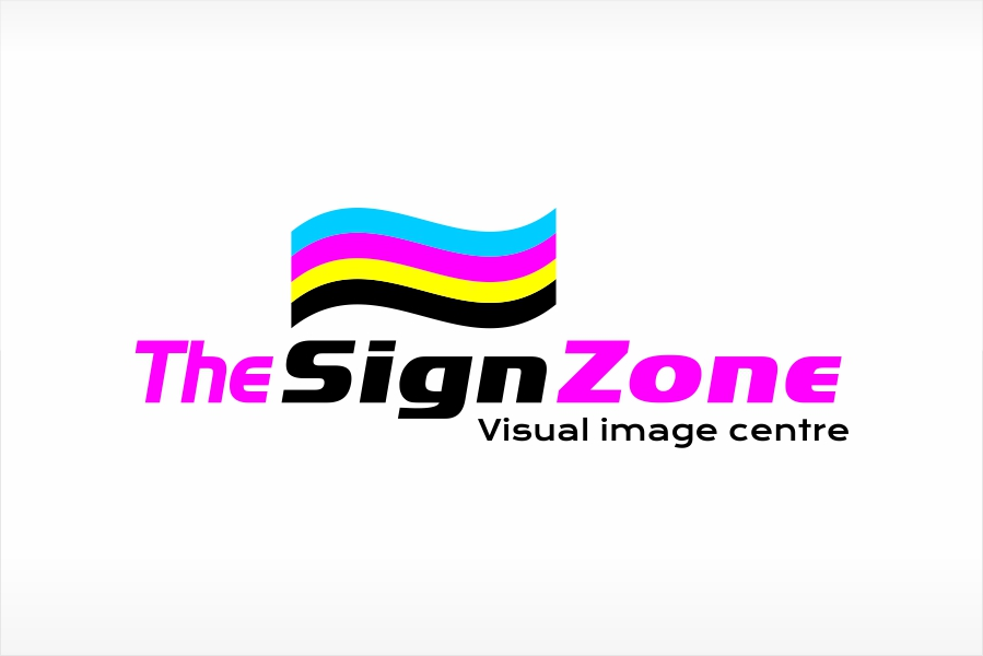 Logo Design by Ali Ahmad - Entry No. 91 in the Logo Design Contest Fun Logo Design for The Sign Zone.