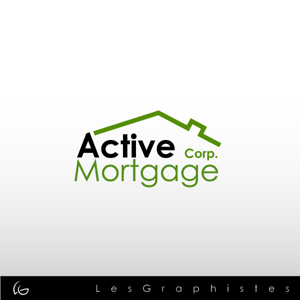 Logo Design by Les-Graphistes - Entry No. 101 in the Logo Design Contest Active Mortgage Corp..