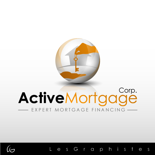Logo Design by Les-Graphistes - Entry No. 103 in the Logo Design Contest Active Mortgage Corp..