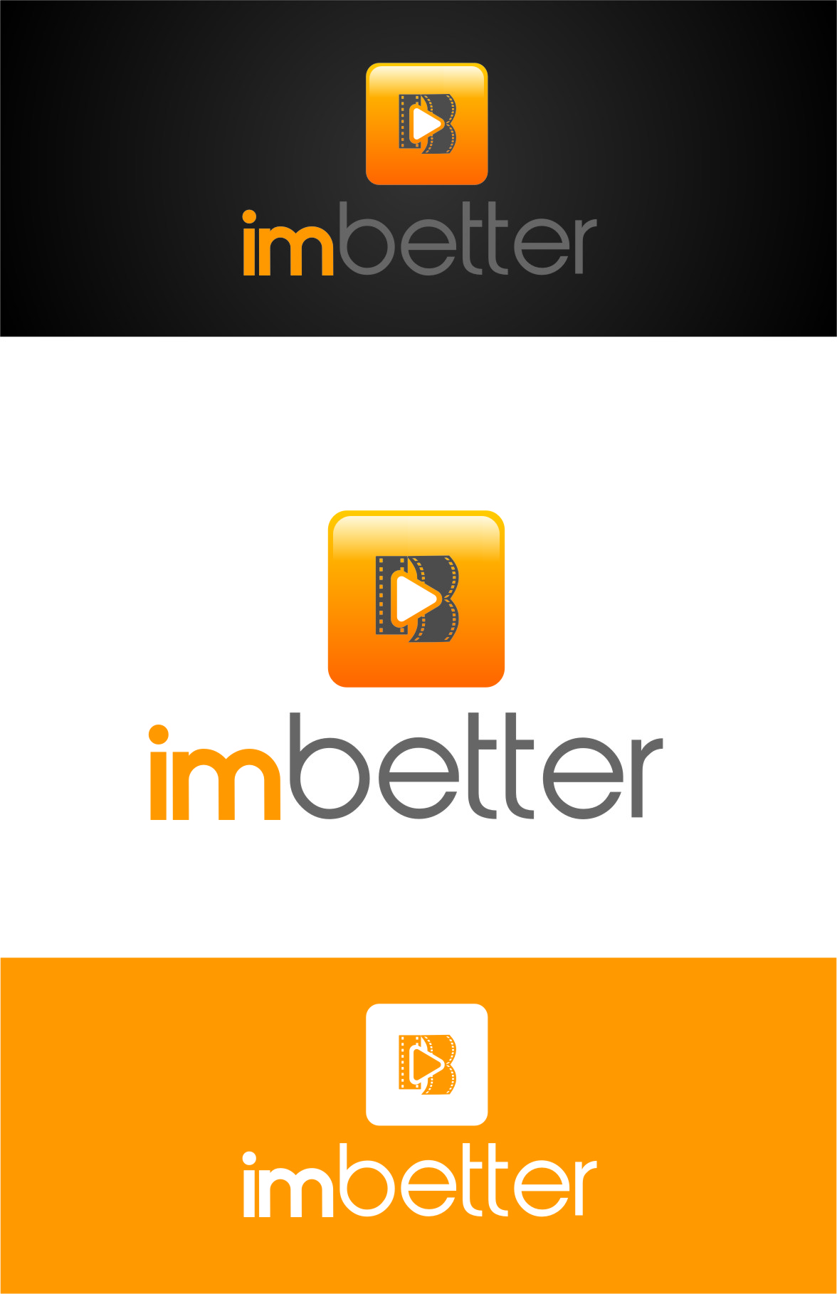 Logo Design by RoSyid Rono-Rene On Java - Entry No. 141 in the Logo Design Contest Imaginative Logo Design for imbetter.