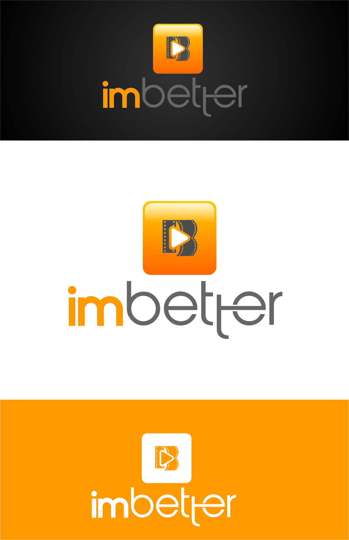 Logo Design by RasYa Muhammad Athaya - Entry No. 142 in the Logo Design Contest Imaginative Logo Design for imbetter.