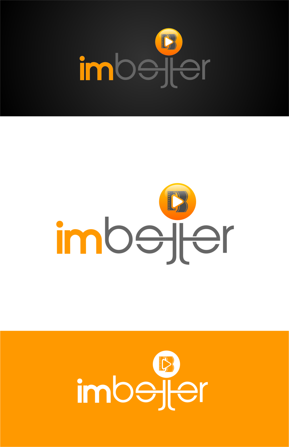 Logo Design by Ngepet_art - Entry No. 144 in the Logo Design Contest Imaginative Logo Design for imbetter.
