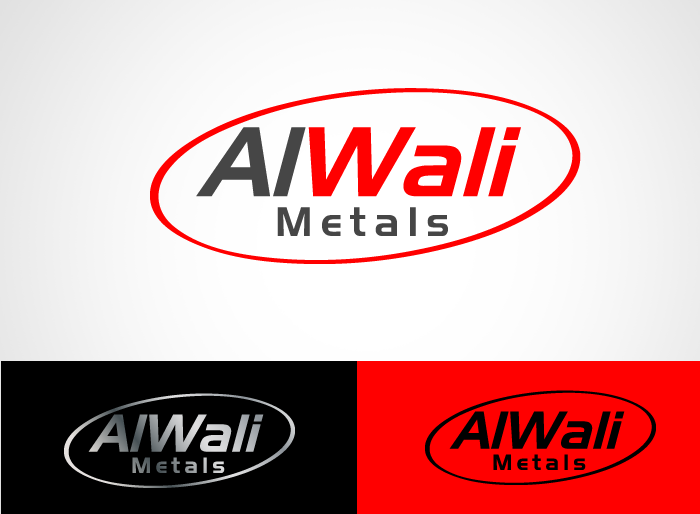 Logo Design by Jan Chua - Entry No. 66 in the Logo Design Contest Inspiring Logo Design for Al Wali Metals.