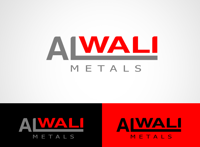 Logo Design by Jan Chua - Entry No. 67 in the Logo Design Contest Inspiring Logo Design for Al Wali Metals.