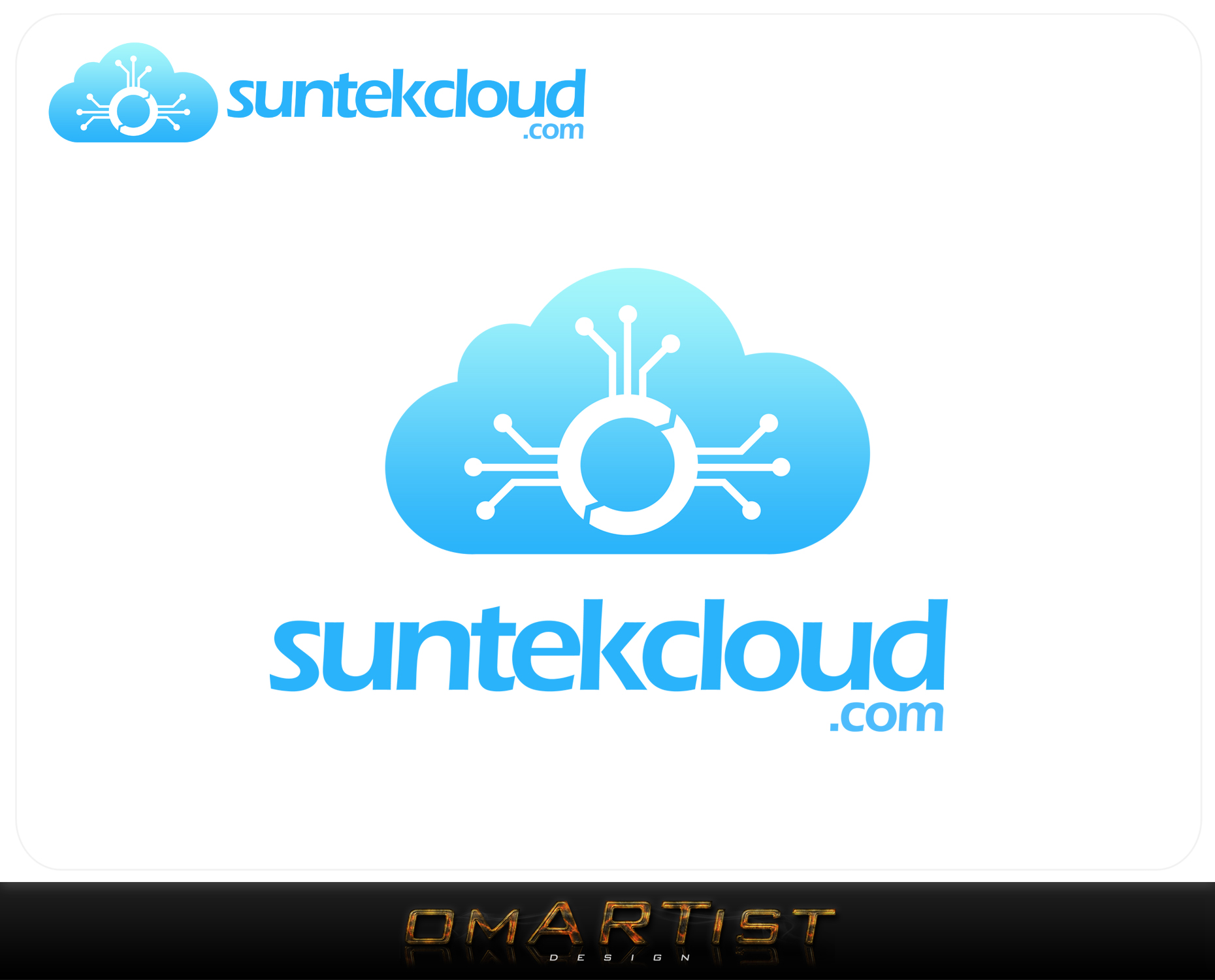 Logo Design by omARTist - Entry No. 114 in the Logo Design Contest Imaginative Logo Design for suntekcloud.com.